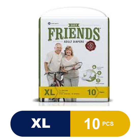 FRIENDS Adult Diaper (Easy) - XL (10 Pieces)
