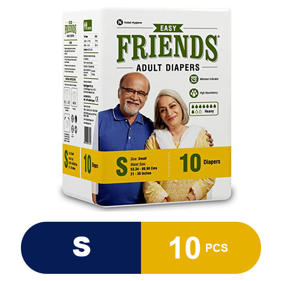 Friends Adult Diapers Easy (Small)