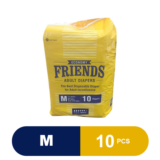 Friends Adult Diapers Economy (Medium)