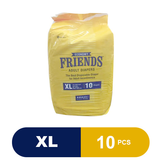 Friends Adult Diapers Economy (XLarge)