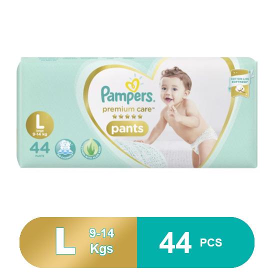 Pampers Premium Care Large Pants Diapers (44 Pcs)