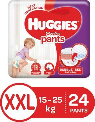 Huggies Wonder Pants diapers - XXL  (22 Pieces)
