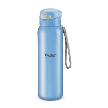 Prestige Stainless Steel Vaccum Bottle (470ml) - Light-Blue Color