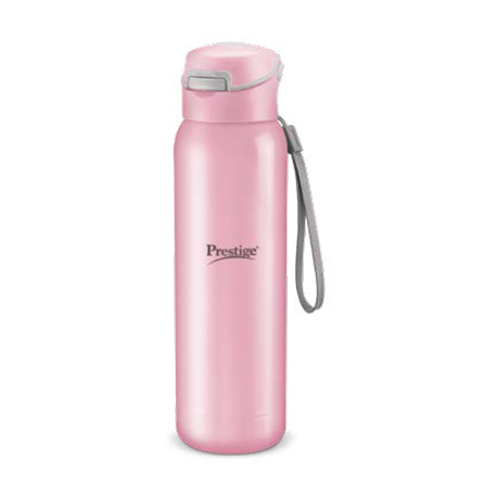 Prestige Stainless Steel Vaccum Bottle (470ml) - Pink Color