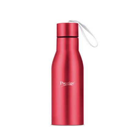 Prestige Stainless Steel Water Bottle (500ml) - Red Color