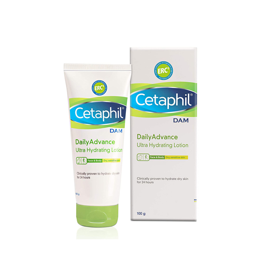 Cetaphil Daily Advance Ultra Hydrating Lotion, 100g