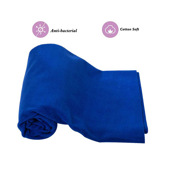 Mee Mee Baby Waterproof Bed Protector Total Dry Sheets – (Royal Blue)