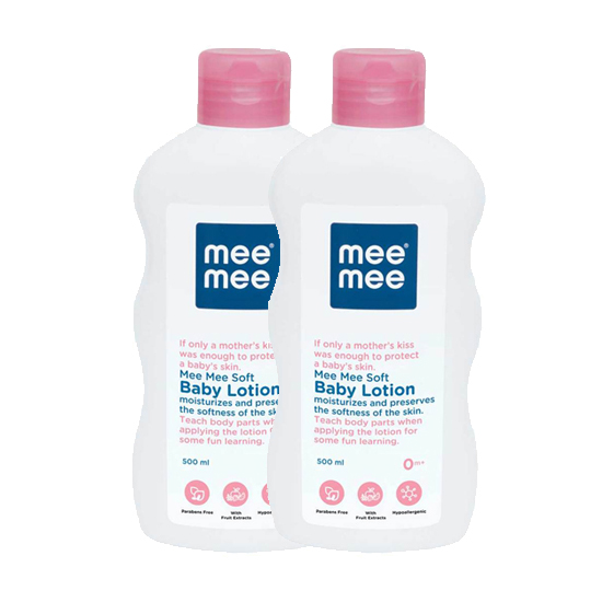 Mee Mee Soft Baby Lotion - 500ml (Pack of 2)