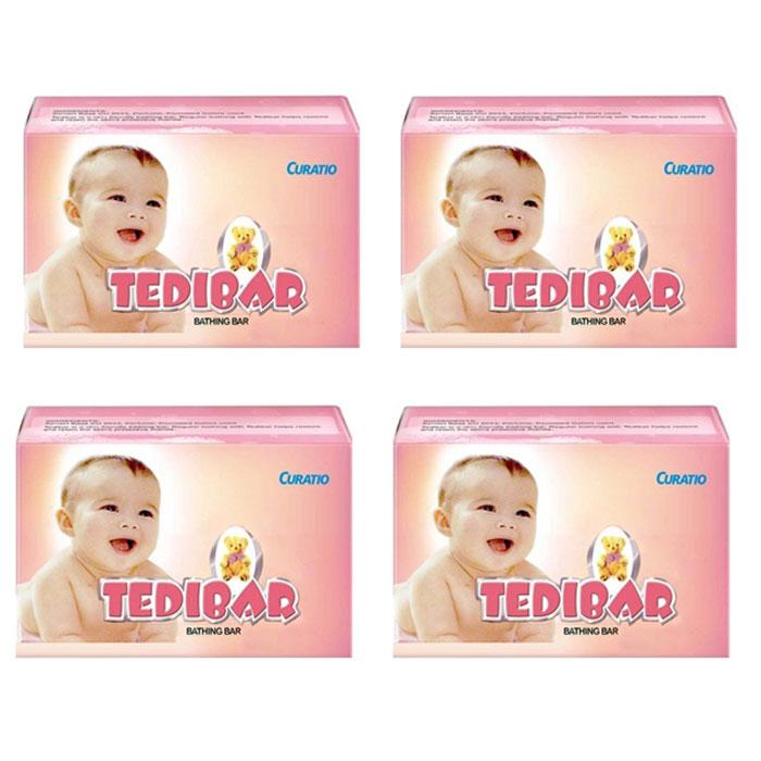 Curatio Tedibar Soap 75gms (Pack of 4)