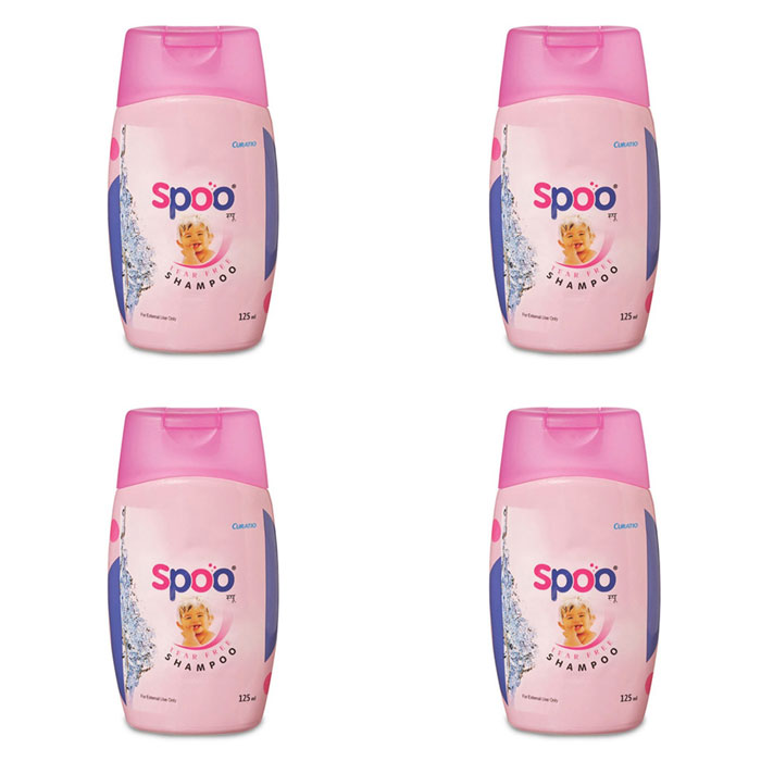 Curatio SPOO Baby Shampoo 125ml (Pack of 4)