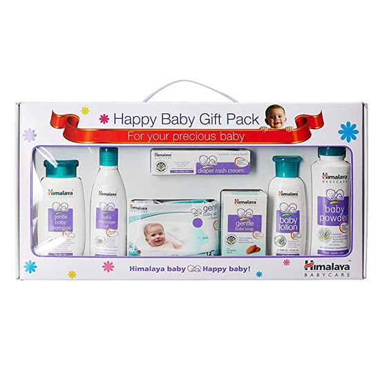 Himalaya Happy Baby Care Gift Pack With Window 7's