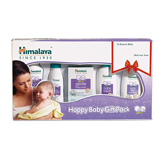Himalaya Happy Baby Care Gift Pack 5's