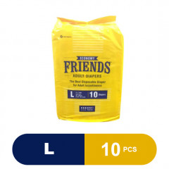 Friends Adult Diapers Economy (Large)