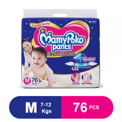 MamyPoko Pants Extra Absorb Diaper Medium (Pack of 76)