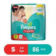 Pampers Pant Style Diapers Small (86 Count)