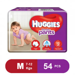 Huggies Wonder Pants Medium Size Diapers( 56 Pcs)