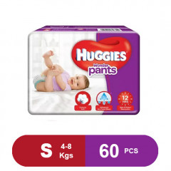 Huggies Wonder Pants Small Diapers (Pack of 60)