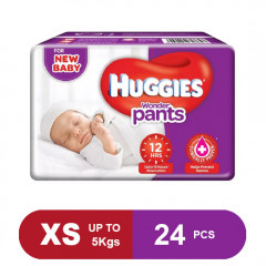 Huggies Wonder Pants Extra Small Diapers (24 Count)