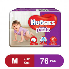 Huggies Wonder Pants Medium Diapers (Pack of 76)