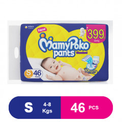 MamyPoko Pants Standard Diapers, Small (46 Pcs)