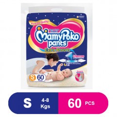 MamyPoko Pants Extra Absorb Small (60 Pcs)