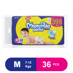 MamyPoko Pants Standard Diapers, Medium (36 Pcs)