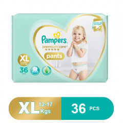 Pampers Premium Care Pants Diapers, XL (36 Pcs)