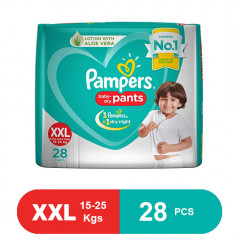Pampers New Diapers Pants XXL (28 Pcs)