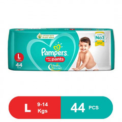 Pampers New Large Size Diapers Pants (44Pcs)