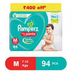 Pampers Baby Pants Dry Pants Medium- 94
