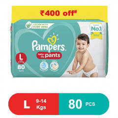 Pampers Baby Pants Dry Pants large- 80