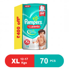 Pampers Baby Pants Dry Pants Extra large- 70