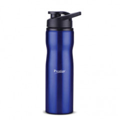 Prestige Stainless Steel Sports Water Bottle (750ml) - Blue Color