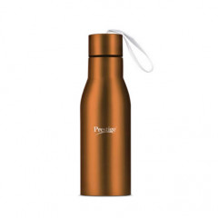 Prestige Stainless Steel Water Bottle (500ml) - Orange Color