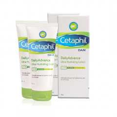 Cetaphil Dam Daily Advance Ultra Hydrating Lotion, 30g (Pack of 2)