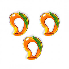 Morison Cool Buddy Toy Teether - Mango (Pack of 3)
