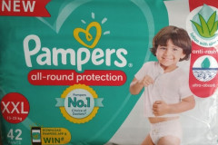 pampers pants XXL -42 pieces