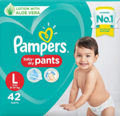 Pampers New Large Size Diapers Pants (42Pcs)